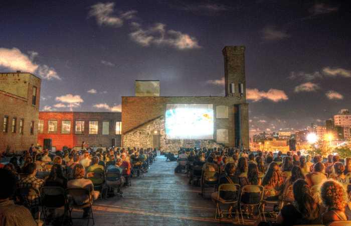 Rooftop film new york