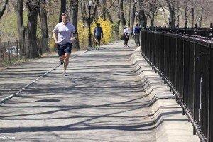 footing à Central Park