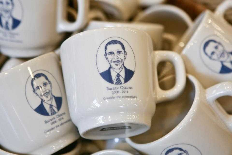 Fish Eddy New York, tasses obama