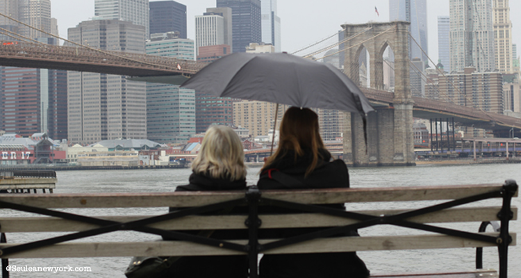 que faire pluie new york
