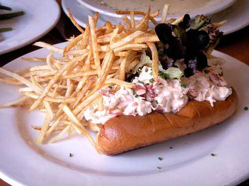 Pearl Oyster Bar – Lobster roll