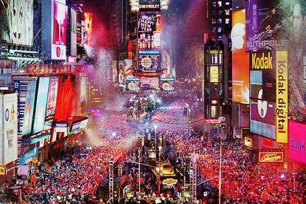 Ball drop de Time Square