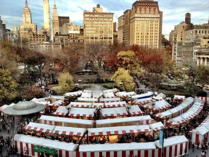 Holiday Market à Union Square