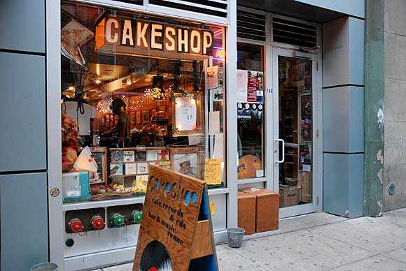 Cake Shop : musique en live à New York