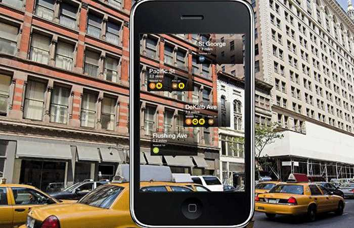 applications smartphone new york