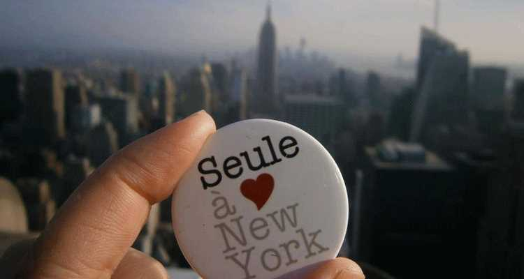 partir seul a new york