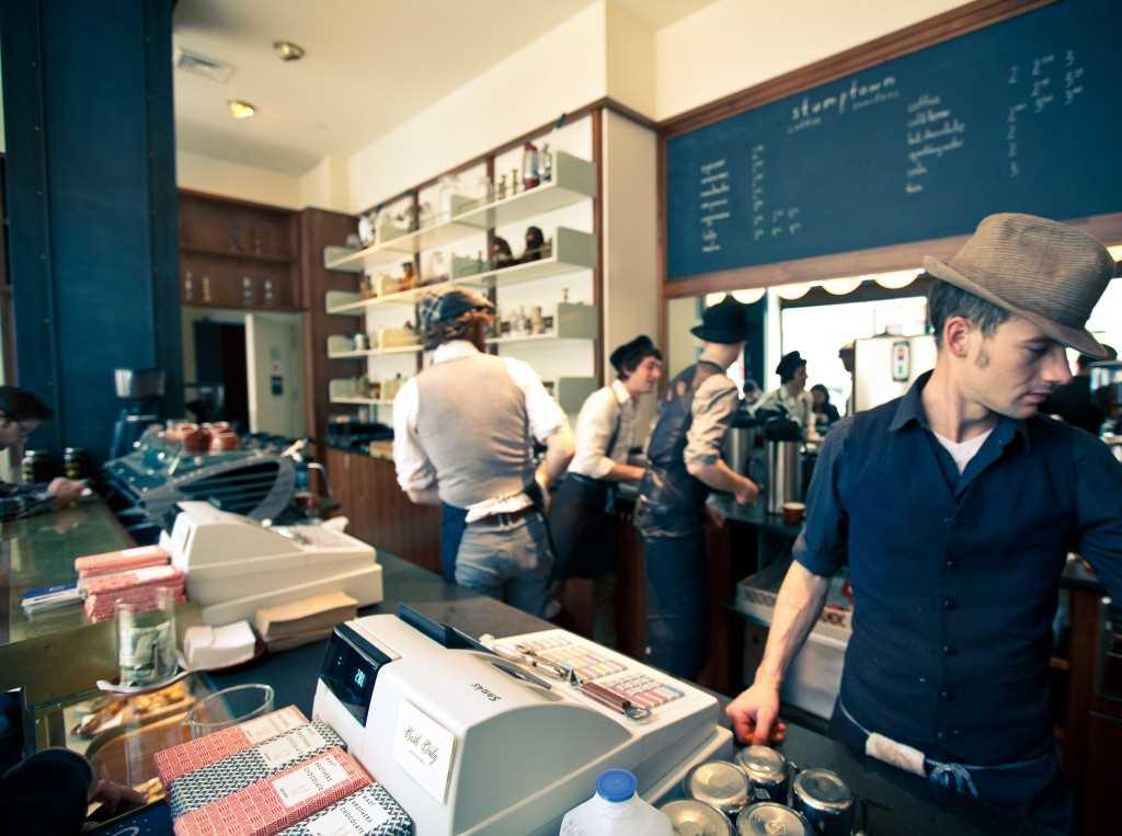 Café à new york