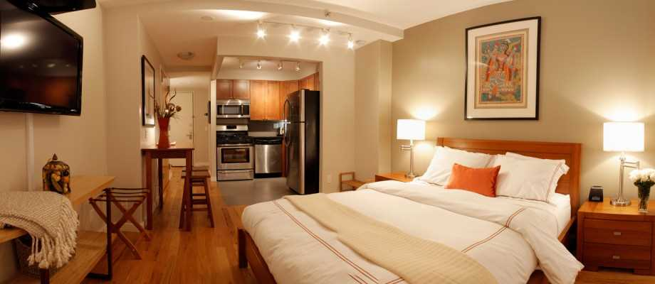 un joli studio louer dans l east village pour vos vacances new york. Black Bedroom Furniture Sets. Home Design Ideas