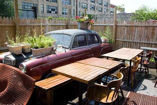 terrasse roberta's new york