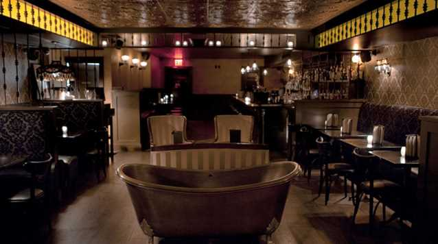 Bath Tub Gin : un bar secret de New York
