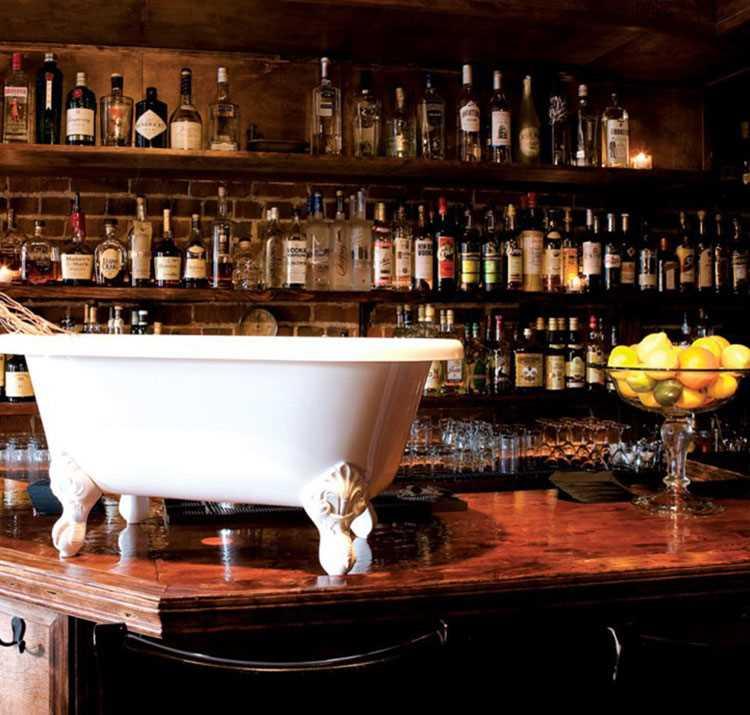 Bath Tub Gin : un bar secret de New York
