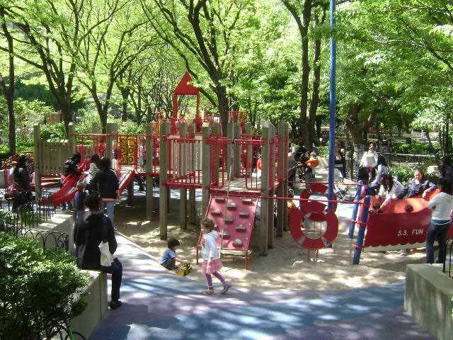 Washington Market Park.