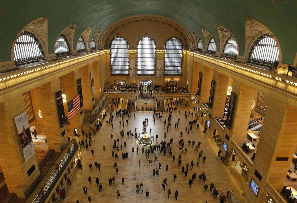 Visiter Grand Central Terminal : le hall principal