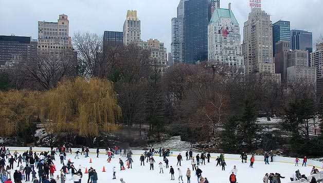 Piste de patinage new york