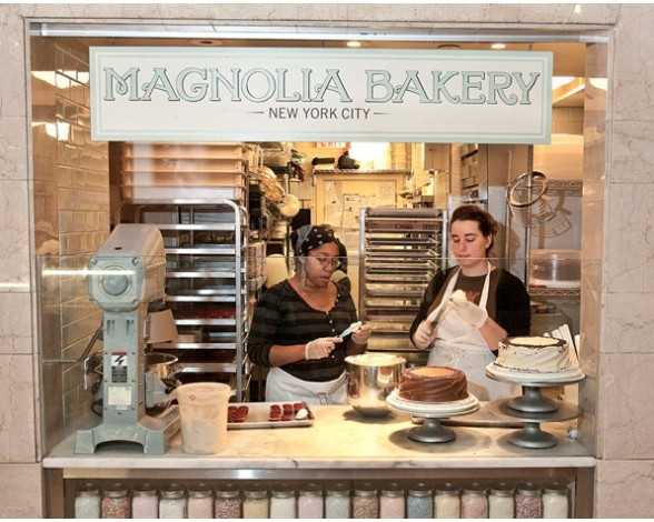 Visiter Grand Central Terminal : Magnolia Bakery