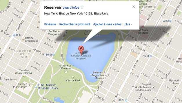 Visiter Central Park : Reservoir
