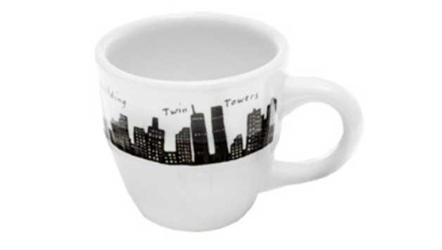 tasse à café skyline de New York de Fish Eddy