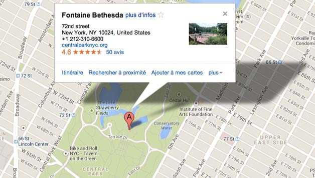 Visiter Central Park : Bethesda Fountain