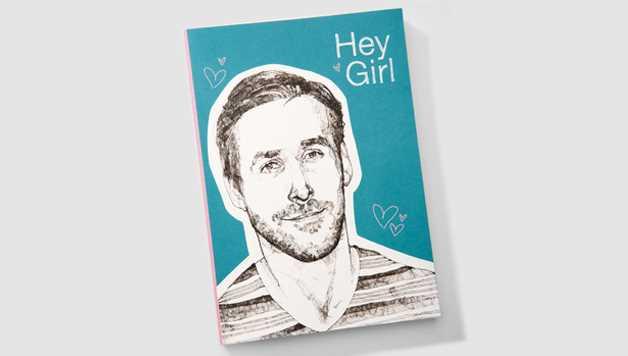 carnet Ryan Gosling d'Urban Outfitter