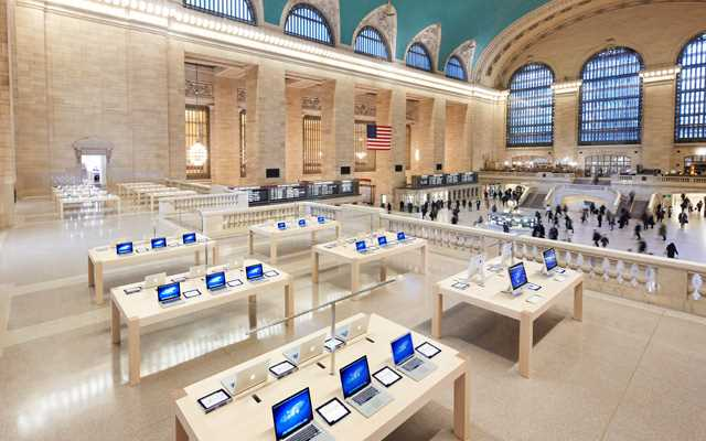 Visiter Grand Central Terminal : Apple Store