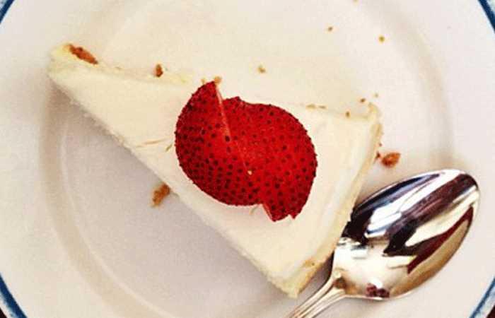 Café Gitane cheesecake