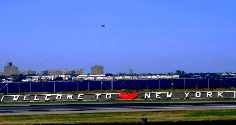 Aéroport la Guardia à Manhattan