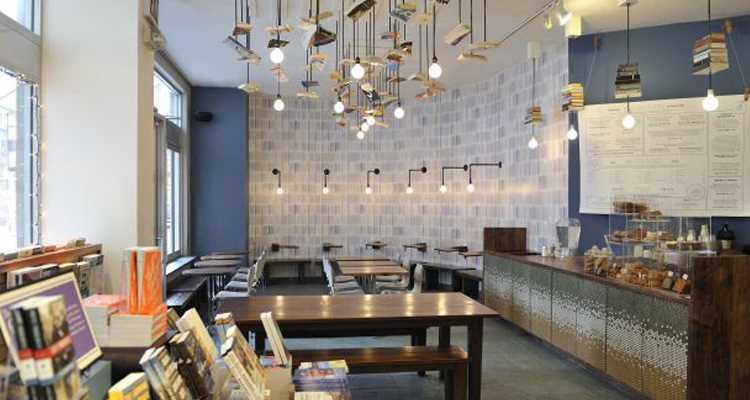 McNally Jackson Bookstore : pour un bon livre et un café