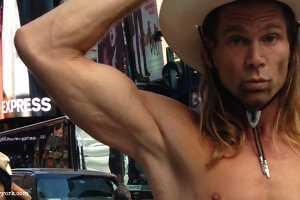 Naked cowboy de New York
