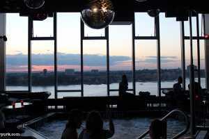 Le Bain New York : bar avec vue