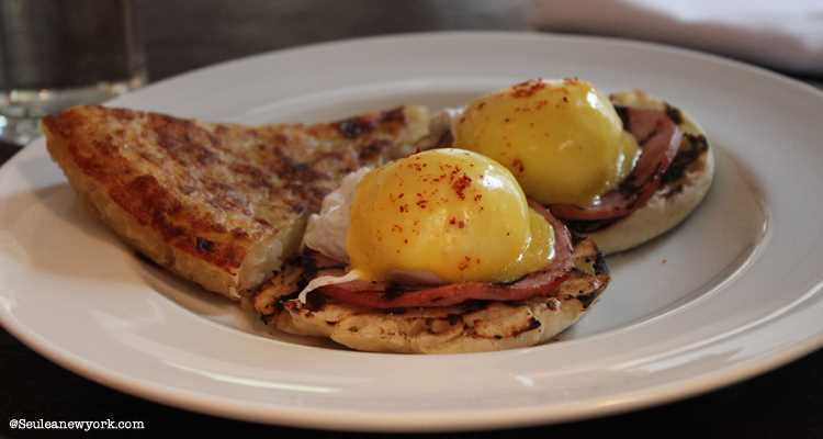 Cafe Cluny new york : oeufs benedict