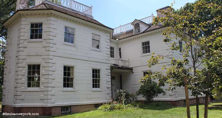 Morris-Jumel Mansion à harlem, new york