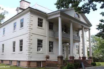 Morris-Jumel Mansion à harlem, new york
