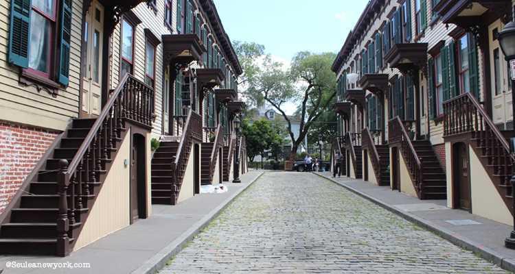Sylvan Terrace street, harlem, new york