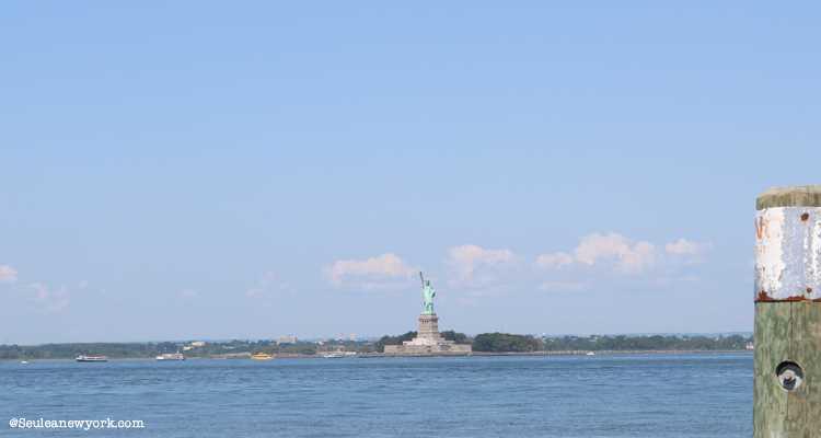 Statue de la liberté depuis Red Hook