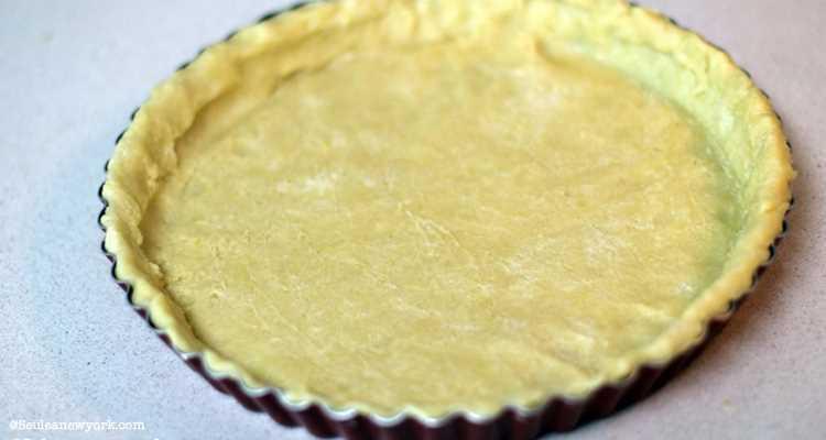 Pâte brisée pour la Pumpkin Pie
