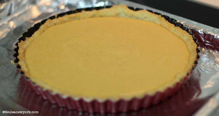 recette de la Pumpkin Pie