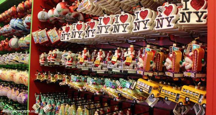 Decorations de noel a new york