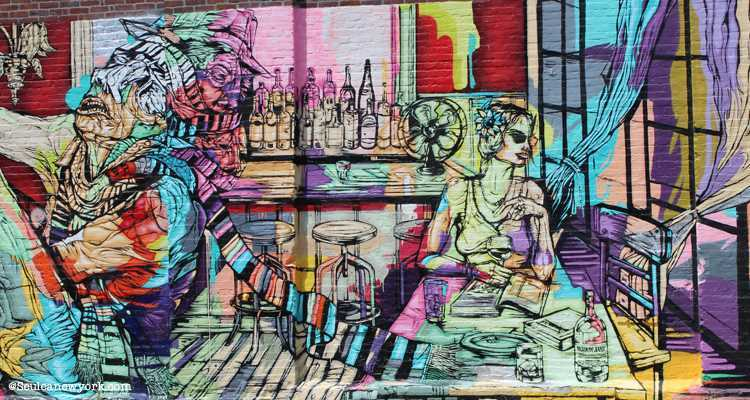 Graffiti Red Hook, New York
