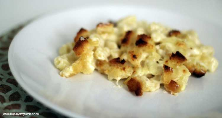 Recette Mac & Cheese