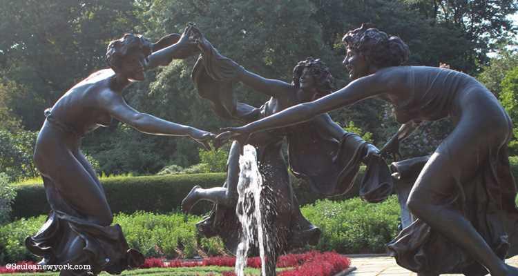 Conservatory Garden, Central Park
