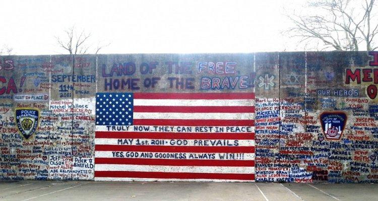 Mural à Brooklyn, mémorial 11 septembre