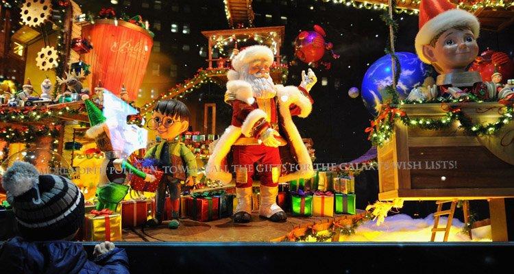 Vitrines de Noël New York