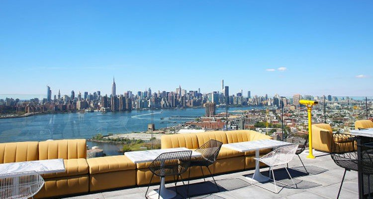 The William Vale rooftop