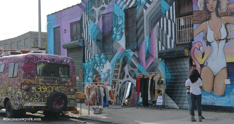 art de rue de The Bushwick Collective