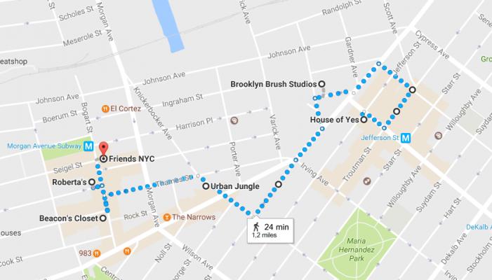 Itinéraire Bushwick New York