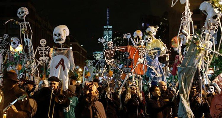 Parade Halloween New York
