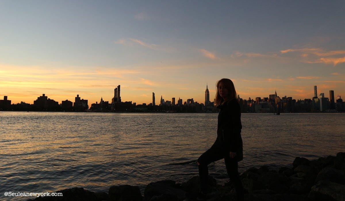 Partir seule à New York